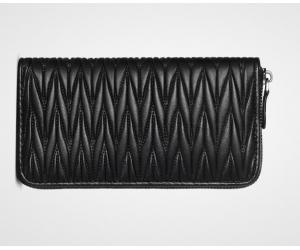 AM0058 Lambskin Long Wallet