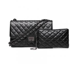 AM0055 Elegant Black Shoulder Bag