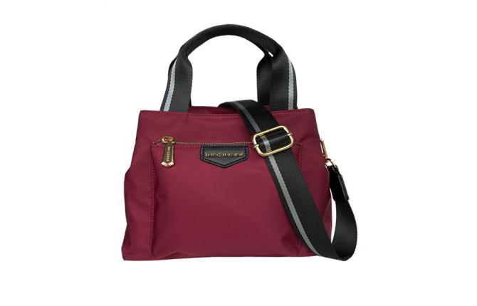 ALITA NYLON BAG - WINE RED
